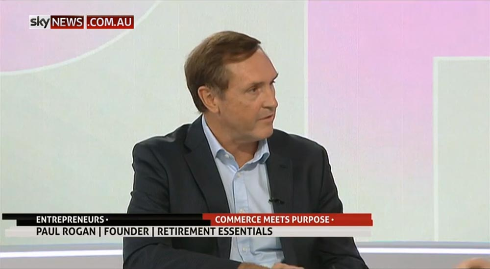 Retirement Essentials founder Paul Rogan on Sky Business News