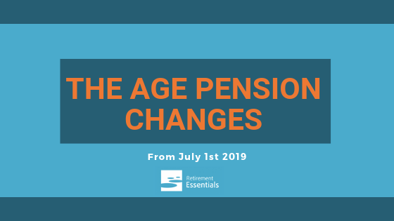 Increase to Age Pension age effective from 1 July 2019. What else is changing?